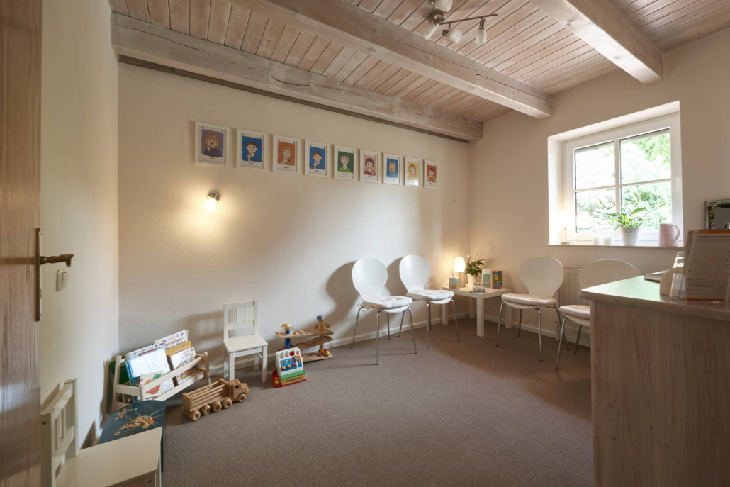 Praxis - Wartezimmer für Eltern, Kinder, Jugendliche - Sandra Köster Logopädin in Bremen